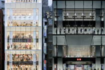 UNIQLO'S flagship store in Ginza Tokyo