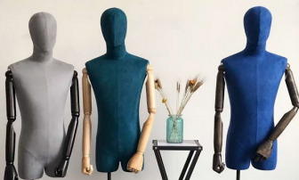 Open the world of half body mannequin