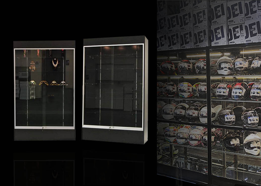Wall Style Display Cases